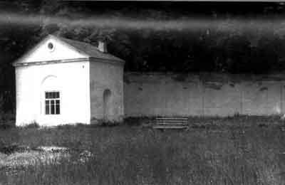 """Колонада """"Эхо""""- после Великой Отечественной войны."""